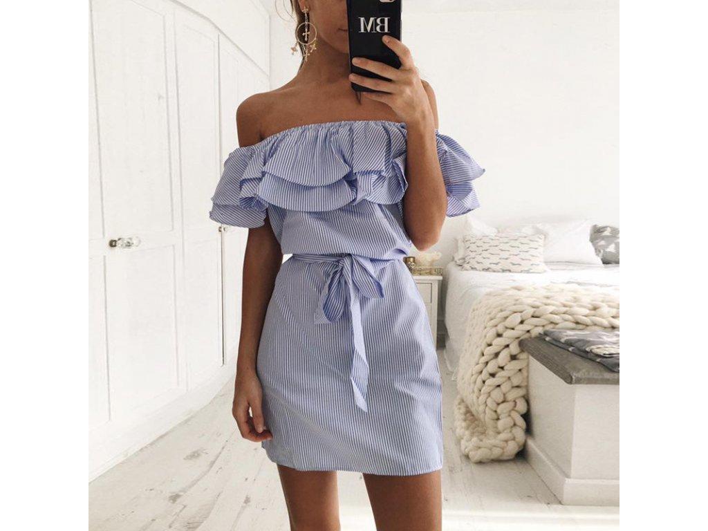 731b14d6bb Dámske letné šaty s mašľou - OBLECSITO.SK