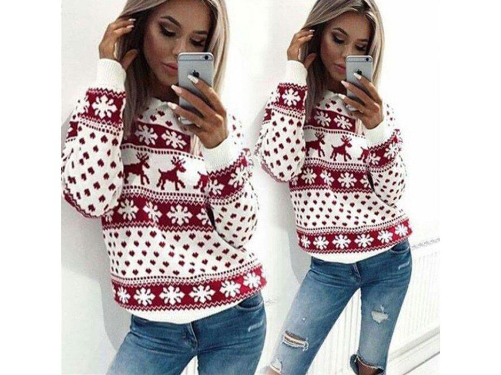 cf890cffd209 Krásny vianočný sveter - OBLECSITO.SK