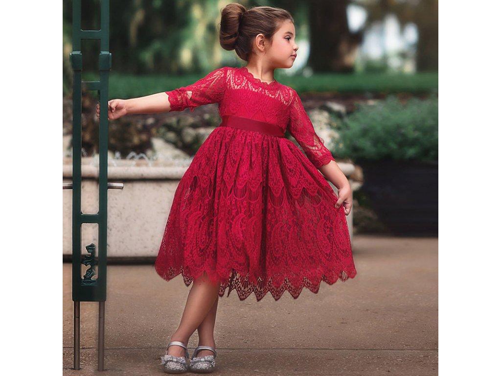 a141ad9c5ec0 Spoločenské dievčenské šaty - OBLECSITO.SK