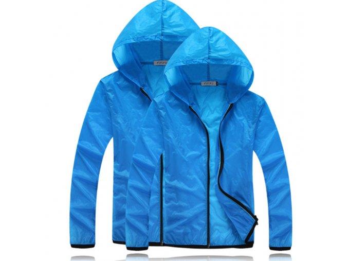 Unisex jesenná nepremokavá šušťáková bunda