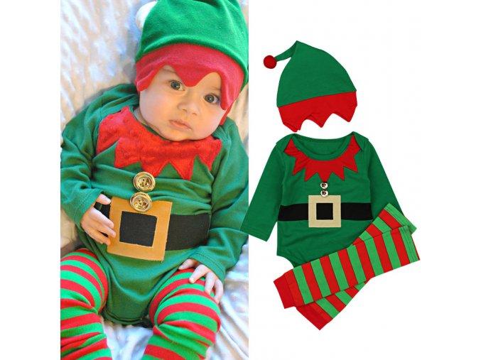 Detský roztomilý vianočný set