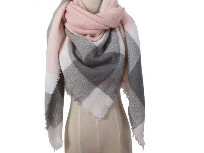 2017 Winter Brand Designer Triangle Scarf Women Shawl Cashmere Autumn Plaid Wool Scarves Blanket Wholesale Drop