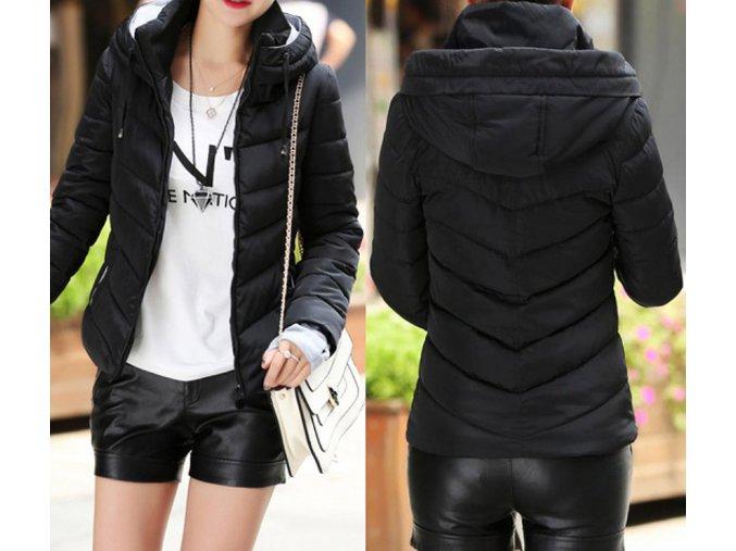 bunda zimni damska s kapuci