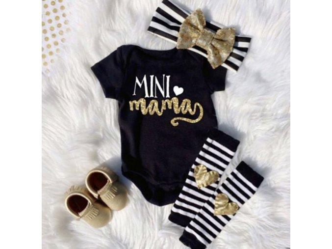 Roztomilý obleček pre bábätká