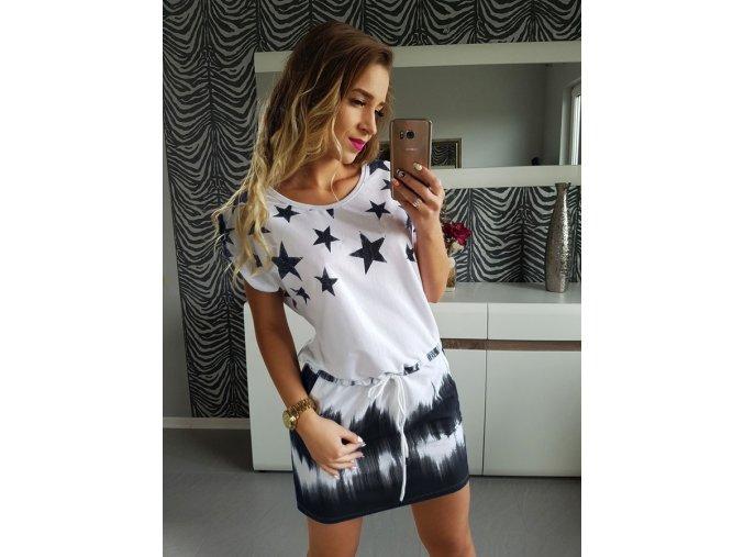 Hviezdne letné šaty - 2 farby