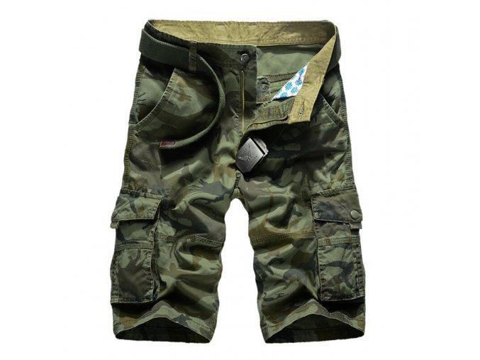 Pánske maskáčové kraťasy / trištvrťové nohavice