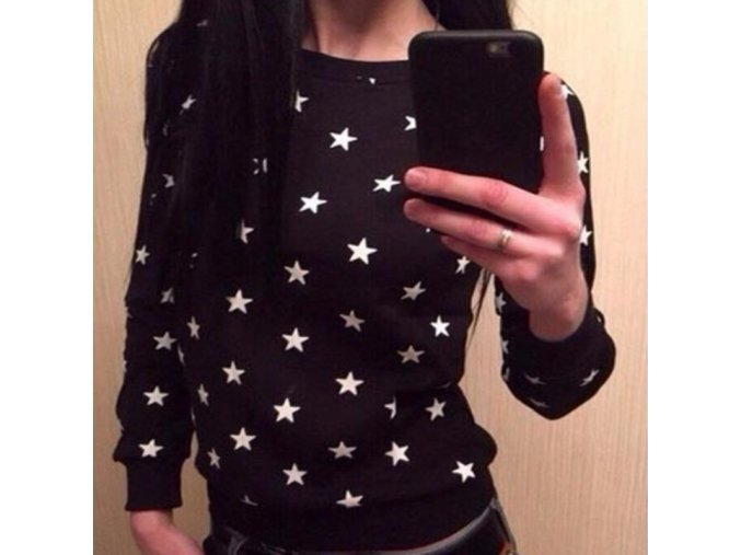 Mikina s hviezdami