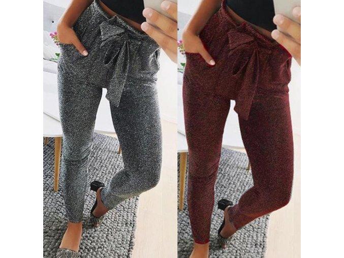 Trblietavé nohavice s mašľou
