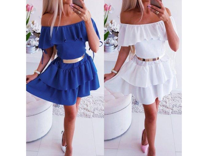 Sexy off shoulder šaty - 2 varianty