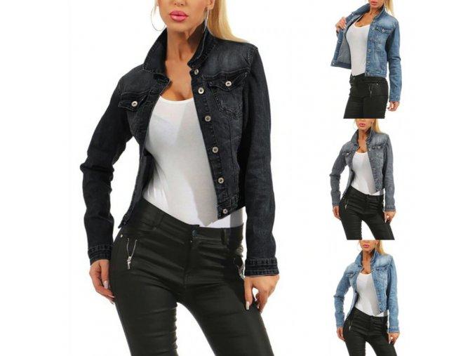 Super kombinovateľná džínsová bunda
