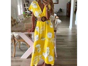 Dlhé letné šaty - 4 farby