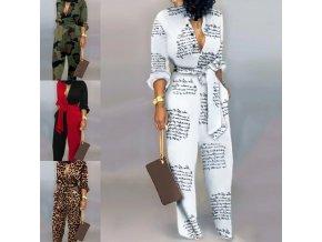 Dámsky módny overal s dlhými nohavice v 4 variantoch