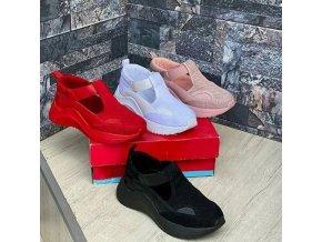 Dámske športové pohodlné nazúvacie topánky vo viacerých farbách