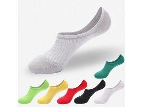 Tři páry dámských kotníčkových ponožek (Barva Šedá)