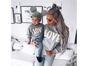 """Úžasný """"LOVE"""" set pre mamičku a dieťa"""
