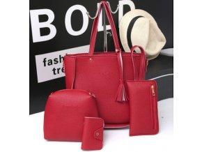 Dámsky kabelkový set - 4ks - rôzne farby - ZĽAVA 60%