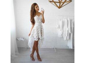 Dámské elegantní krajkové plážové šaty