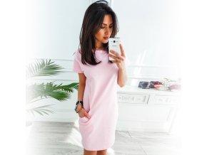 Luxusné letné šaty s vreckami
