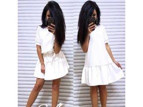 Letné nadýchané šaty