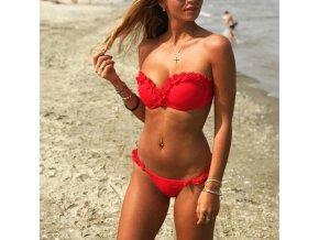 Letné bikini s volánikmi - 7 farieb