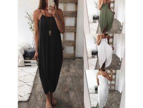 Basic bavlnené plážové šaty