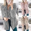 Jesenný luxusný hrejivý kabátik - až 5XL