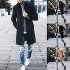 Pánsky štýlový zimný kabát