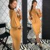 Dámske jarné šaty s naberanými rukávmi - 4 farby