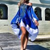 Letné vzdušné šaty so vzormi kvetov - až 3XL
