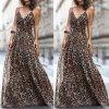 Ľahké šaty s leopardím vzorom