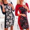 Pružné šaty s kvetmi - viac farieb
