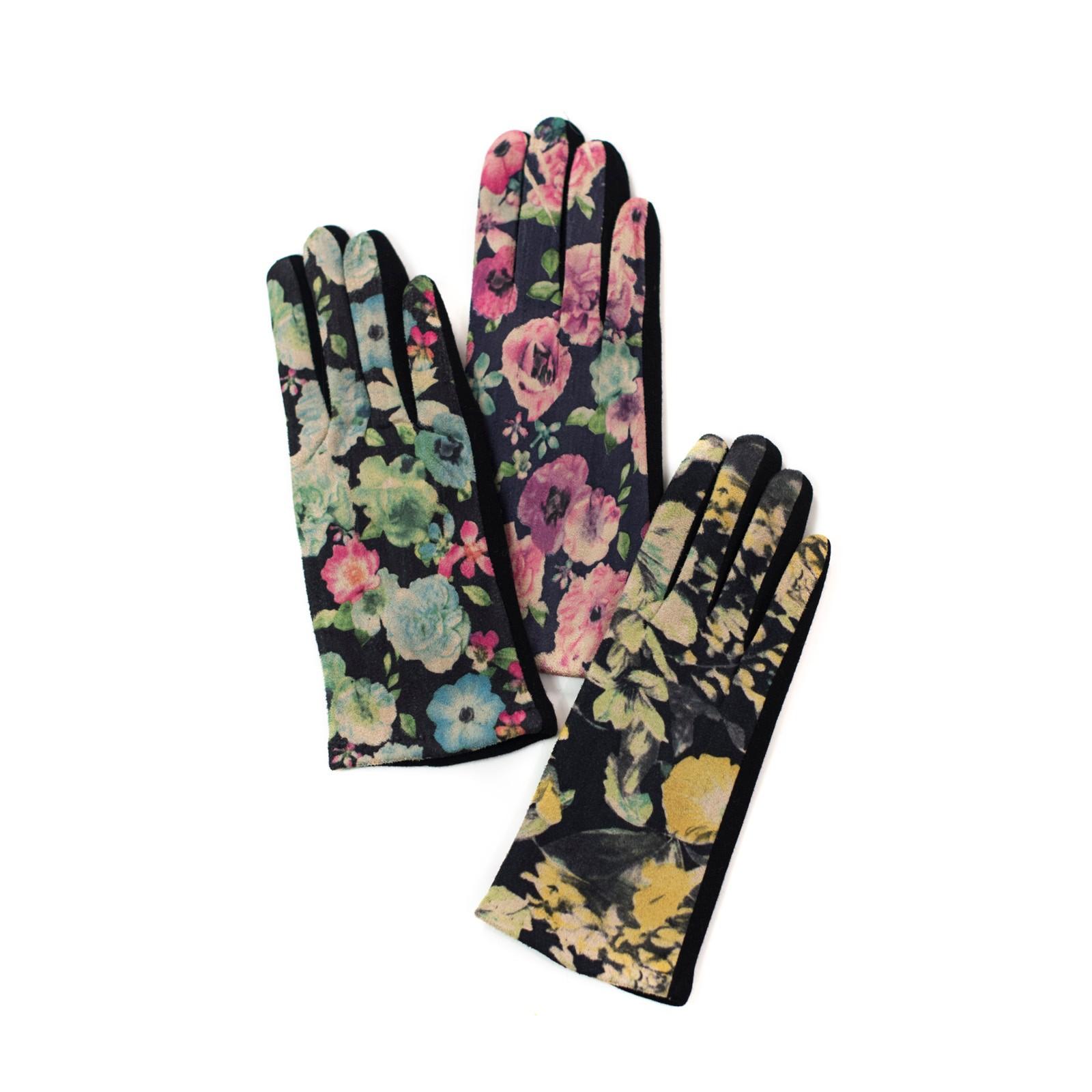 rukavice-s-kvetovanym-vzorem