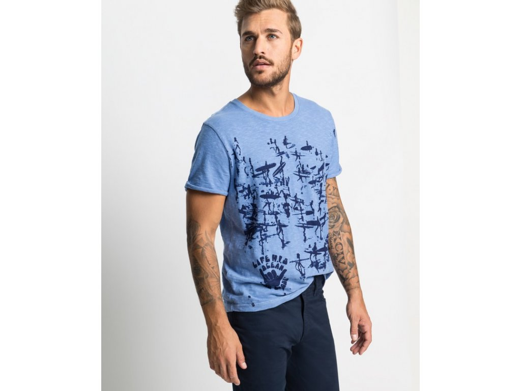 pánské tričko h.i.s 101356 4 kopie