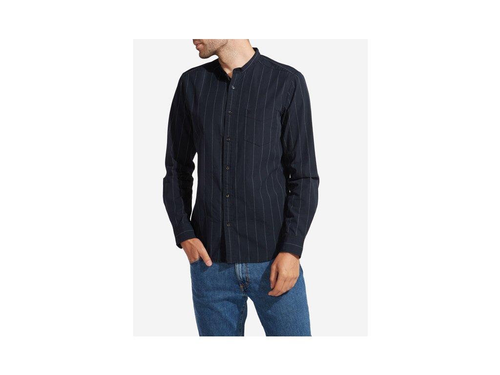 Pánská košile WRANGLER W59453N01 REGULAR FIT Black - Obleknete se 9562e6e127
