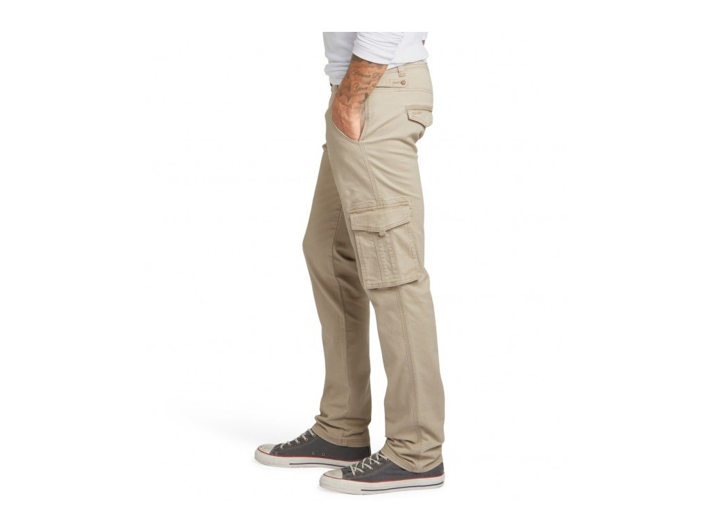 1a6dafa6683 Pánské kalhoty H.I.S 101022 STANTON Stretch 2217 Flax - Obleknete se