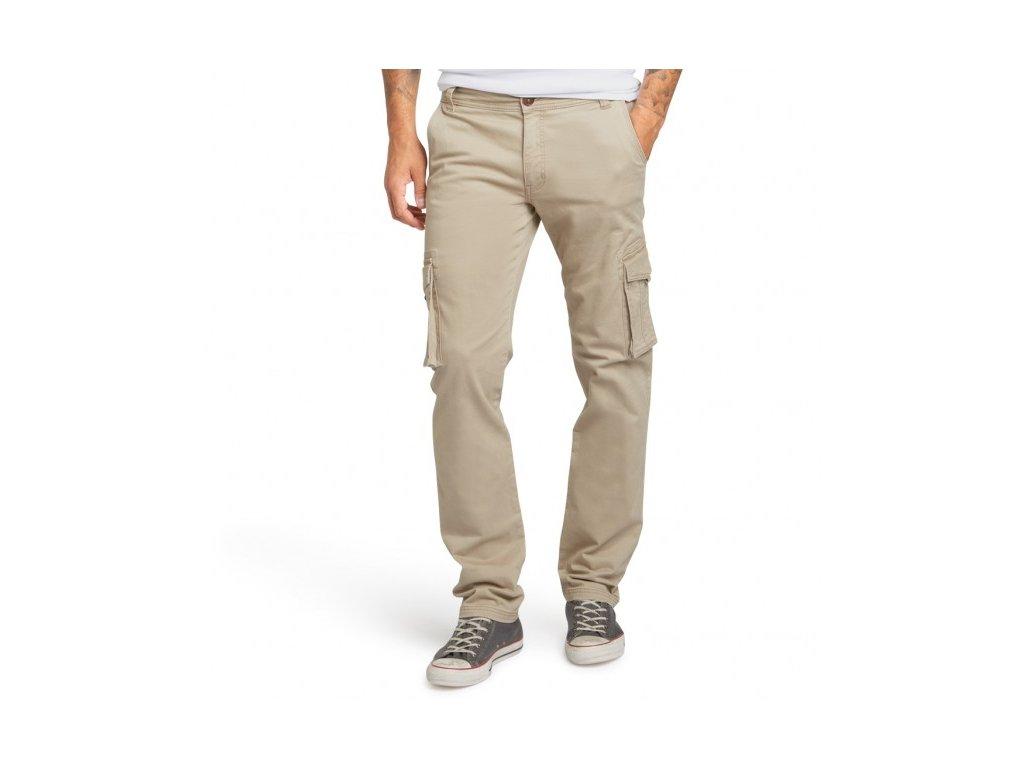 Pánské kalhoty s kapsami H.I.S 101022 STANTON Stretch Flax