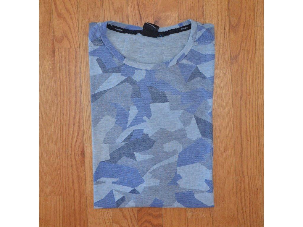 Pánské tričko TWINLIFE MTS811521 6007 Blue Glow