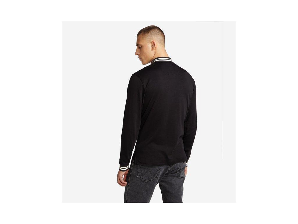 Pánské triko WRANGLER W7B83GK01 LOGO POLO Black - Obleknete se 6ab69b429c