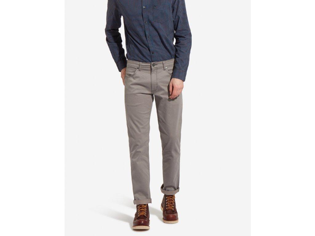 Pánské kalhoty WRANGLER W15QGE83D GREENSBORO STRETCH Timberwolf