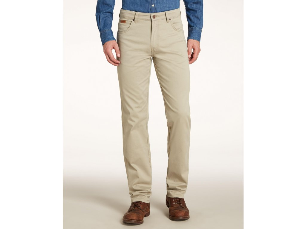 pánské plátěné kalhoty wrangler W12119175