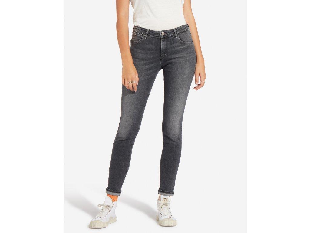 dámské šedé džíny wrangler W28KUL22S