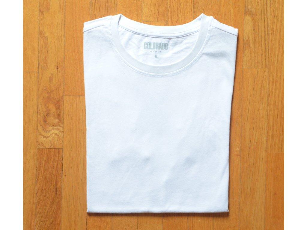 Pánské tričko COLORADO DENIM 18032 White