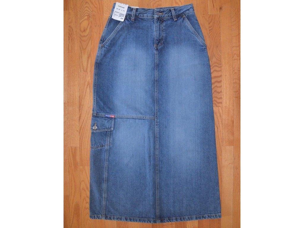Džínová sukně FREEWAY 192 334-30 U