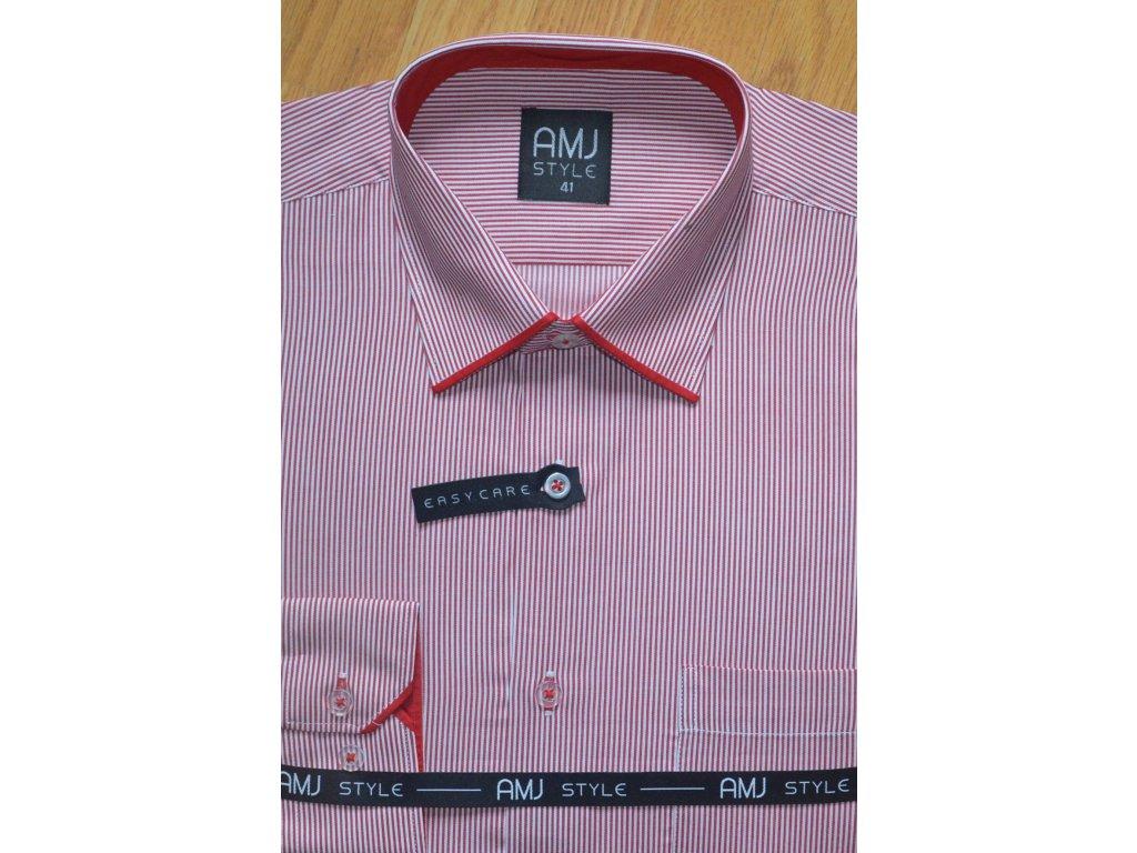 Pánská košile AMJ VDL 693 Classic Style