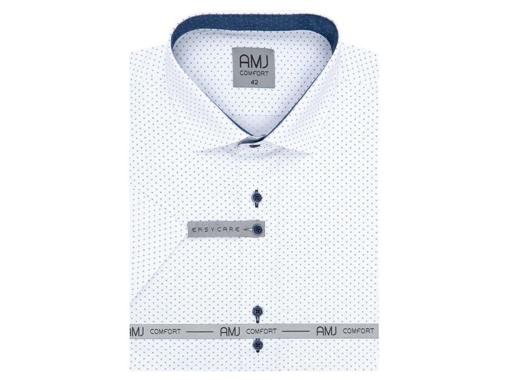 Pánská košile AMJ VKBR 1139 Classic Comfort