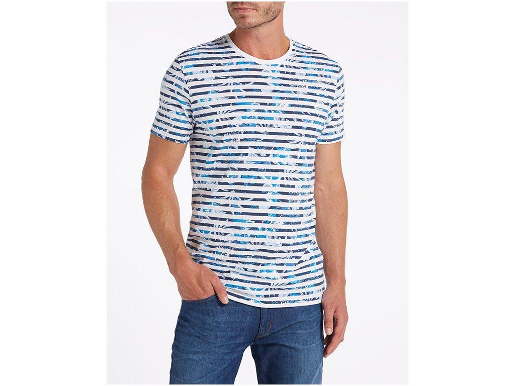pánské pruhované tričko wrangler