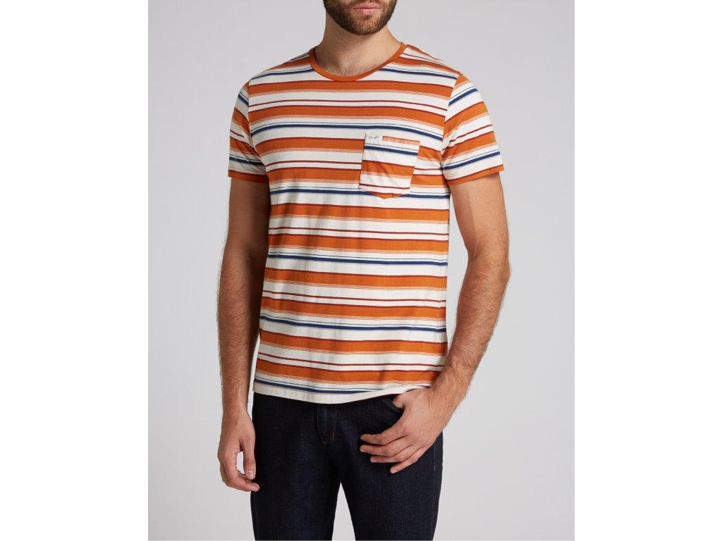 pánské oranžové tričko
