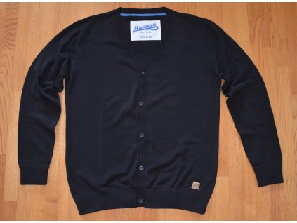 Pánský svetr Maverick M123RXB1 Cardigan Black