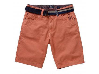 pánské šortky Twinlife MBE711202 Salmon