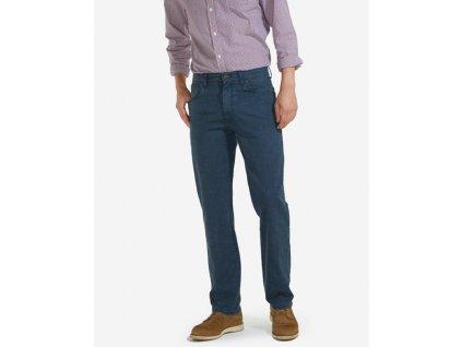pánské modré kalhoty W12197114